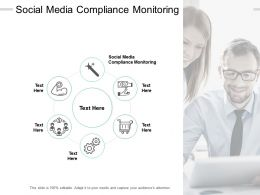 Social Media Compliance Monitoring Ppt Powerpoint Presentation Model File Formats Cpb