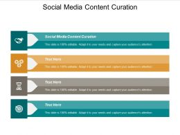 Social Media Content Curation Ppt Powerpoint Presentation Pictures Clipart Cpb