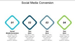 Social Media Conversion Ppt Powerpoint Presentation Infographic Template Aids Cpb