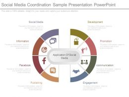 Social Media Coordination Sample Presentation Powerpoint