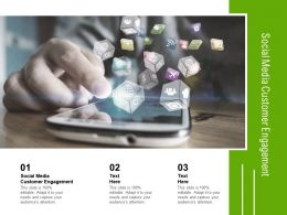 Social Media Customer Engagement Ppt Powerpoint Presentation Layouts Graphics Cpb
