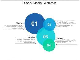 Social Media Customer Ppt Powerpoint Presentation Styles Visuals Cpb