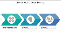 Social Media Data Source Ppt Powerpoint Presentation Gallery Templates Cpb