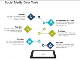 Social Media Data Tools Ppt Powerpoint Presentation Infographic Template Graphic Cpb