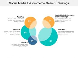 Social Media E Commerce Search Rankings Ppt Powerpoint Presentation Gallery Microsoft Cpb