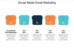 Social Media Email Marketing Ppt Powerpoint Presentation Slides Mockup Cpb