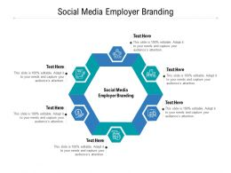 Social Media Employer Branding Ppt Powerpoint Presentation Template Display Cpb
