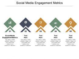 Social Media Engagement Metrics Ppt Powerpoint Presentation Portfolio Maker Cpb
