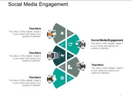 Social Media Engagement Ppt Powerpoint Presentation Summary Ideas Cpb