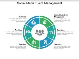 Social Media Event Management Ppt Powerpoint Presentation Ideas Influencers Cpb