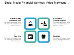 Social Media Financial Services Video Marketing Lead Generation Cpb