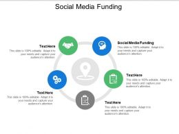 Social Media Funding Ppt Powerpoint Presentation Layouts Influencers Cpb