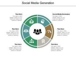 Social Media Generation Ppt Powerpoint Presentation Visual Aids Gallery Cpb