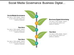 Social Media Governance Business Digital Advertising Revenue Marketing Cpb