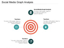 Social Media Graph Analysis Ppt Powerpoint Presentation Ideas Backgrounds Cpb
