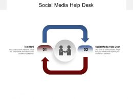 Social Media Help Desk Ppt Powerpoint Presentation Gallery Introduction Cpb
