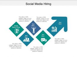 Social Media Hiring Ppt Powerpoint Presentation Pictures Slides Cpb