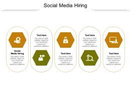 Social Media Hiring Ppt Powerpoint Presentation Slides Design Templates Cpb