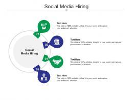 Social Media Hiring Ppt Powerpoint Presentationmodel Brochure Cpb