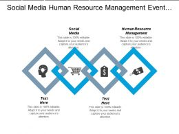 Social Media Human Resource Management Event Planning Asset Management Cpb