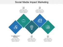 Social Media Impact Marketing Ppt Powerpoint Presentation Inspiration Icon Cpb