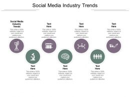 Social Media Industry Trends Ppt Powerpoint Presentation Outline Topics Cpb