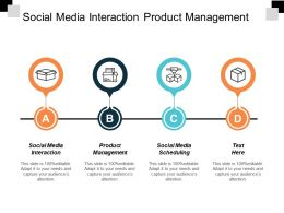 Social Media Interaction Product Management Social Media Scheduling Cpb