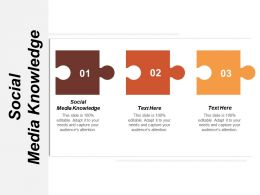 Social Media Knowledge Ppt Powerpoint Presentation Icon Designs Download Cpb