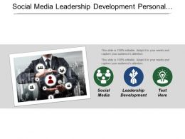 Social Media Leadership Development Personal Development Focus Driving