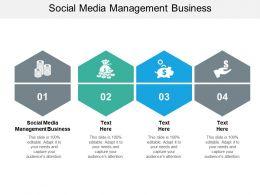 Social Media Management Business Ppt Powerpoint Presentation Slides Cpb