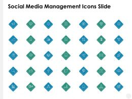 Social Media Management Icons Slide Mind Map Ppt Powerpoint Presentation File Show