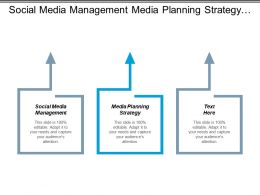 Social Media Management Media Planning Strategy Differentiation Strategy Cpb