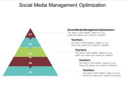 Social Media Management Optimization Ppt Powerpoint Presentation Summary Rules Cpb