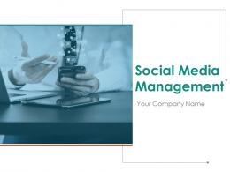 Social Media Management Powerpoint Presentation Slides