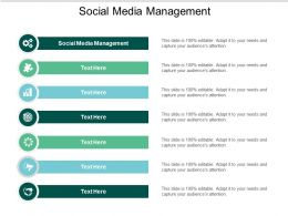 Social Media Management Ppt Powerpoint Presentation Styles Grid Cpb
