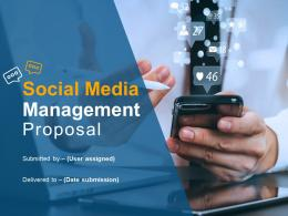 Social Media Management Proposal Powerpoint Presentation Slides