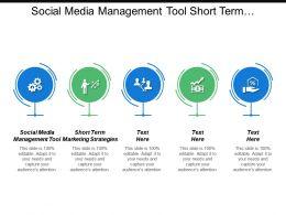Social Media Management Tool Short Term Marketing Strategies