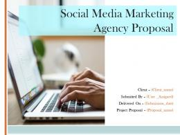 Social Media Marketing Agency Proposal Powerpoint Presentation Slides