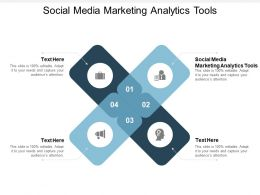 Social Media Marketing Analytics Tools Ppt Powerpoint Presentation Portfolio Cpb