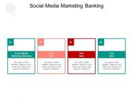 Social Media Marketing Banking Ppt Powerpoint Presentation Infographics Slides Cpb