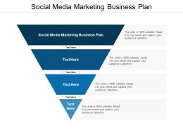 Social Media Marketing Business Plan Ppt Powerpoint Presentation Topics Cpb