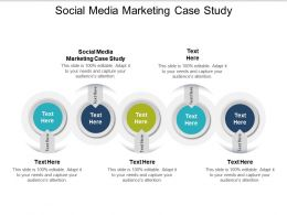 Social Media Marketing Case Study Ppt Powerpoint Presentation Gallery Graphics Cpb