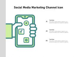 Social Media Marketing Channel Icon
