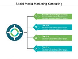Social Media Marketing Consulting Ppt Powerpoint Presentation Icon Aids Cpb