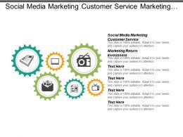Social Media Marketing Customer Service Marketing Return Investment Cpb