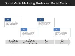 Social Media Marketing Dashboard Social Media Marketing Reporting Cpb