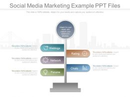 Social Media Marketing Example Ppt Files