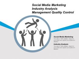 Social Media Marketing Industry Analysis Management Quality Control Cpb