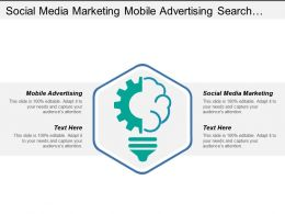 Social Media Marketing Mobile Advertising Search Engine Optimization