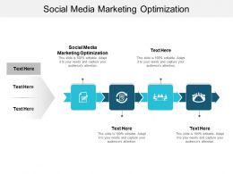 Social Media Marketing Optimization Ppt Powerpoint Presentation Inspiration Design Inspiration Cpb